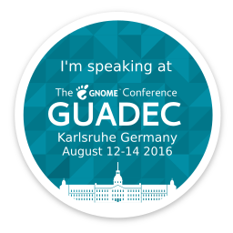 ZeMarmot is speaking at GUADEC 2016!